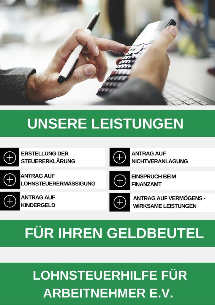 Lohnsteuerhilfeverein Schwerin Leistungen